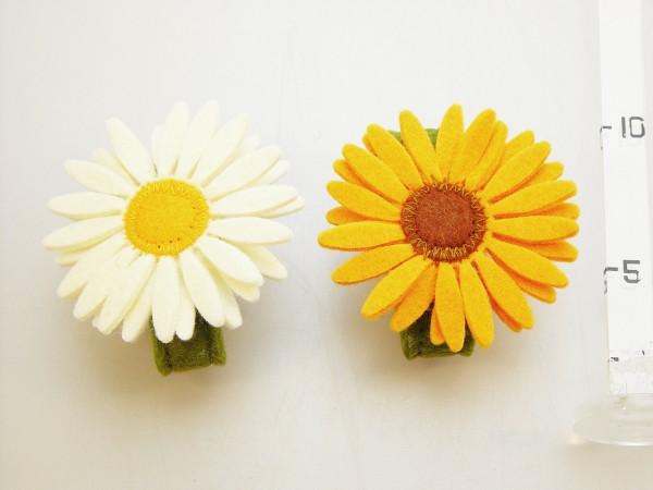 Servítnik filc dekor kvety 2dr