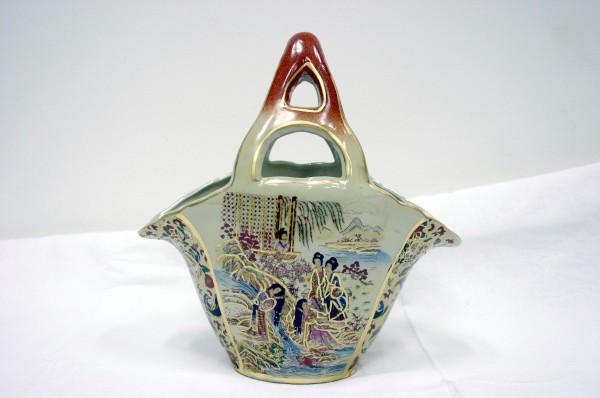 Košík čínsky 25cm vzor Gejša