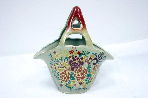 Košík čínsky 25cm vzor Kvety