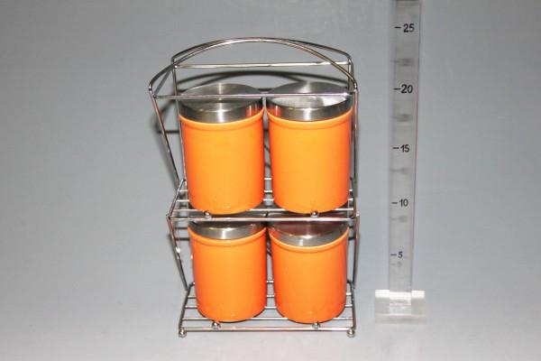 Dózy S/4 na stojane oranžové