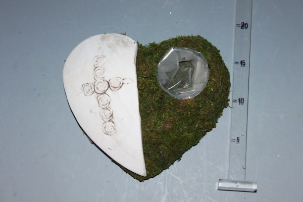 Srdce dekorácia