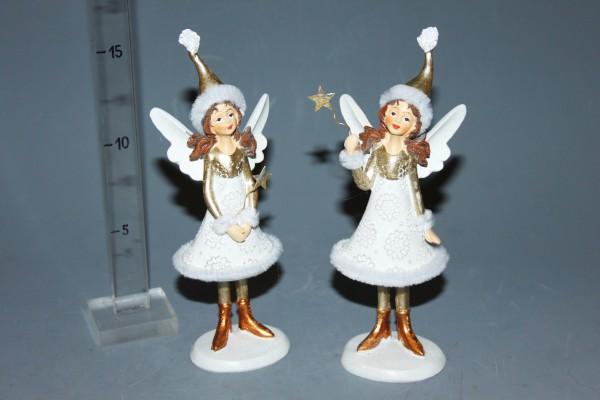 Anjel bielo-zlatý