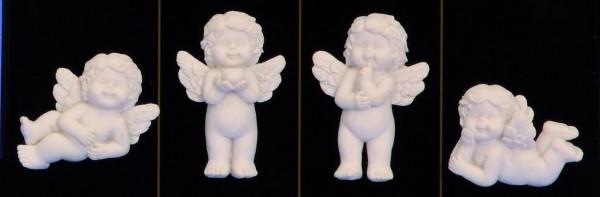 Anjel biely magnetka5-6cm 5411