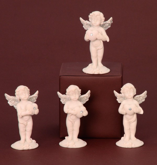 Anjel biely stojaci 9, 5cm 735