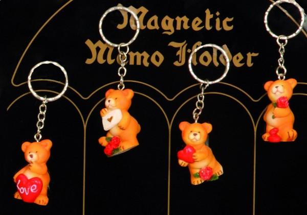 Medveď so srdcom klúčenka 4441