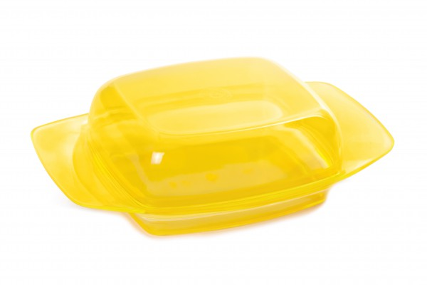 Dóza na maslo plast./147/ mix