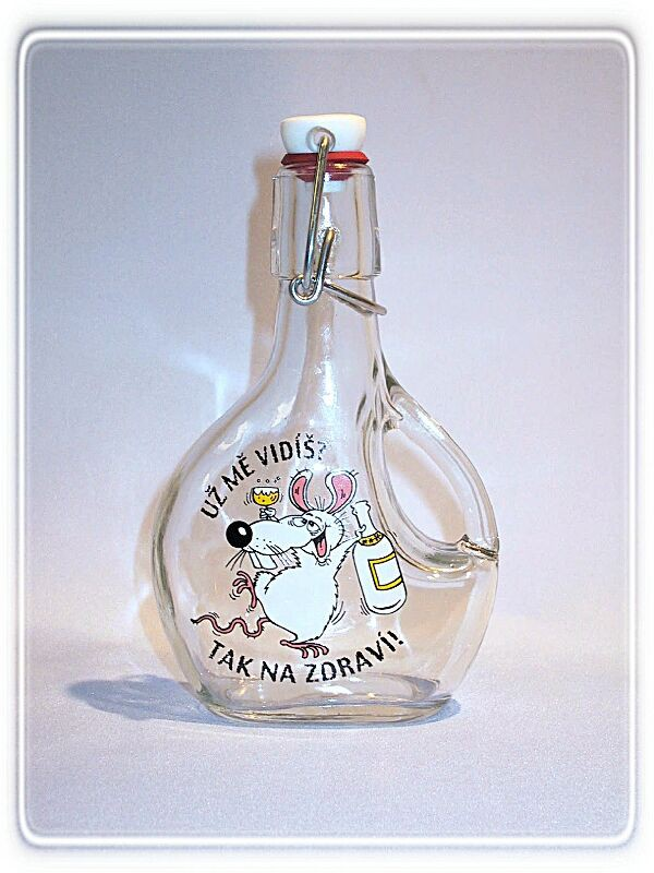 Fľaša Bekbot 0, 2l-myš