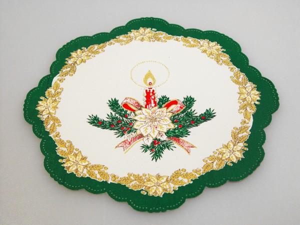 Prestier. vianoč.okrúhle 18cm