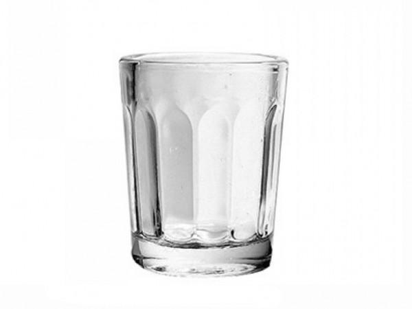 Pohár sklo lisov. 20ml ciach