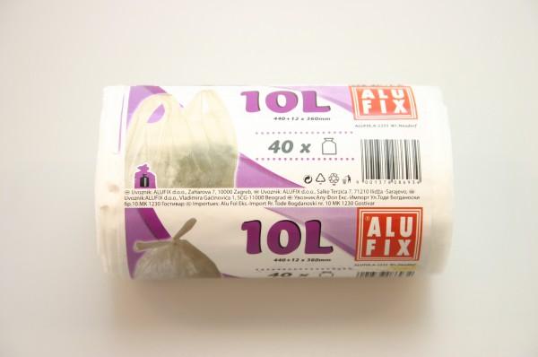 Vrecia 10L/40ks zavin.biele