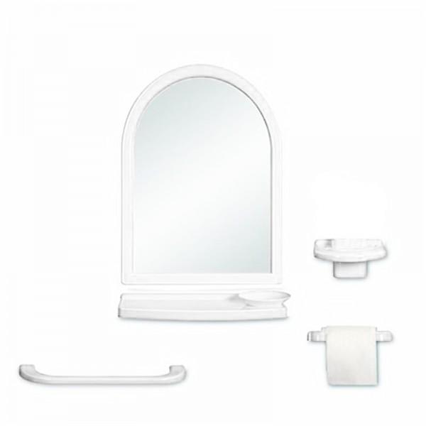 Set zrcadlový půlkruh