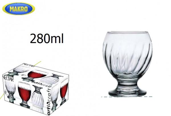 Sp. pohárov NECTAR 280ml 6ks