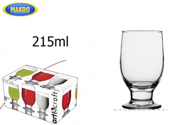 Sp. pohárov RENA 215ml 6ks