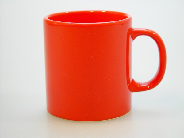 Hrnek červený 9cm