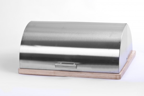 Chlebník dřev.+ner. 39x28,5cm