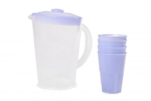 Džbán 1, 5l +4 poháry 0, 25l UH
