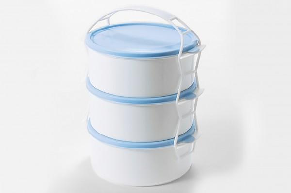 Jídlonosič plast 3x1, 2l
