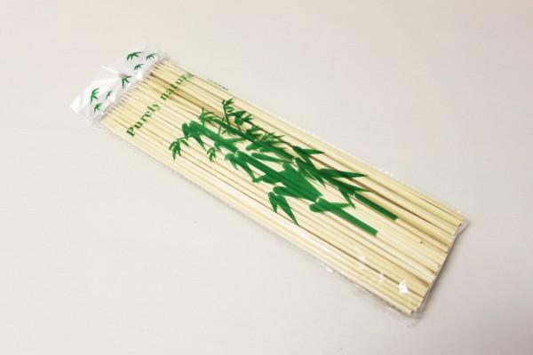 Špejle hroc. 100ks bamb. 30cm
