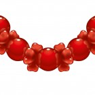 Balonek Láska 22ks řetěz
