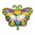 Balónek motýl 1ks