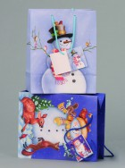 Taška vánoční dárková