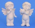 Anděl bílý 19cm mix