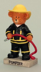 Medvěd hasič 20cm