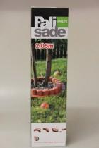 Obrubník zahradní 205cm hnědý