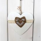 Srdce závěsné dřevo