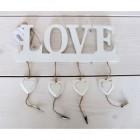 Závěsná dekorace LOVE