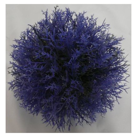 Dekorace koule fialová 20cm