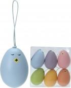 Vajíčka 6cm sada 6ks mix