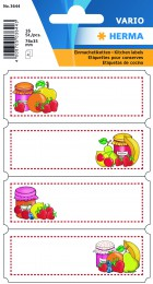 Etikety Vario ovoce 16ks 3644