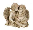 Anděl se srdcem 37x30cm