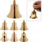 Zvonek NIKL 11cm 6mix Zlatý