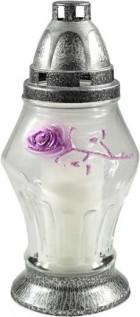 Kahan růže fialová 22, 5cm