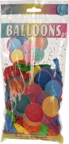 Balóny baevné 100ks mix