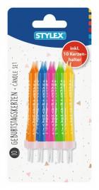 Svíčky HAPPY B. 10ks