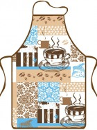 Zástěra kuch.Capuccino 9116