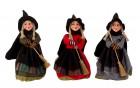 Čarodějnice stojící 20cm mix