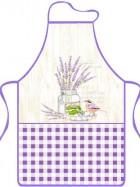 Zástěra kuchyňská Levandule